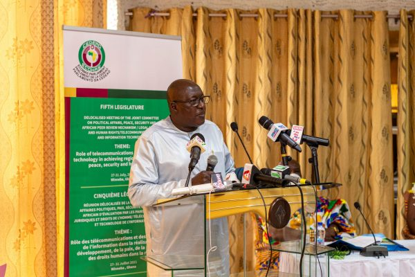 ECOWAS Parliament considers technology a viable tool for curbing insecurity and reforming elections in the sub region