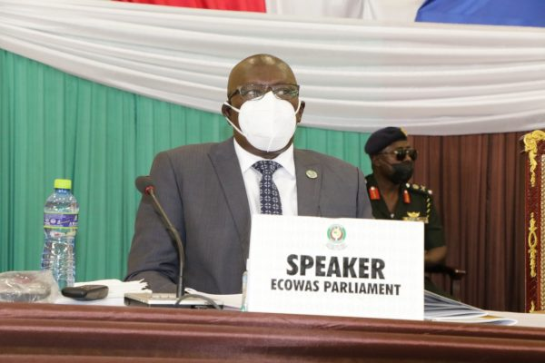 The Speaker of the ECOWAS Parliament denounces Constitutional Changes to hold on to Power